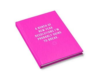 Journal – Funny – Notebook – 2018 - Travel journal – Gift for her – Gift for him – Mom gift – Pink – Teen gift - Women Gift – girl boss