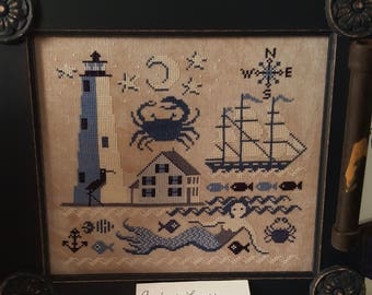 Comfort Lighthouse by Carriage House Samplings