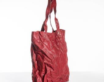 Large shoulder bag, Leather teacher bag, Leather sac bag, Women leather handbag, Red leather bag, Leather travel bag women