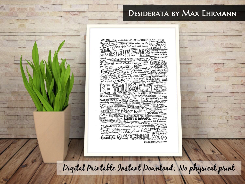 image regarding The Desiderata Poem Printable titled Distinguished Framing A Poem #WL91 Advancedmagebysara