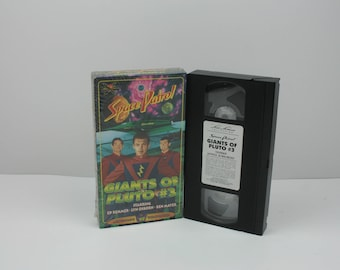 Space Patrol Giants Of Pluto #3 VHS