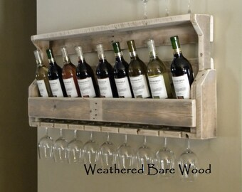 Unique Wine Racks, Reclaimed Wood,Christmas Gift, Wine Rack, Pallet, Rustic Decor, Country Decor, Wood Wine Rack, Gifts For Dad