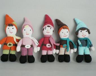 Toy Knit Elf Doll