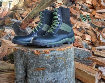 Men walking and hiking boots