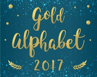 Gold foil alphabet letters Numbers Gold alphabet clipart Digital foil alphabet Gold font Gold foil overlays Gold Foil Font clipart PNG