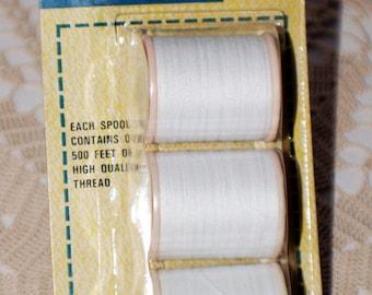 Vintage Sterling Thread Spools