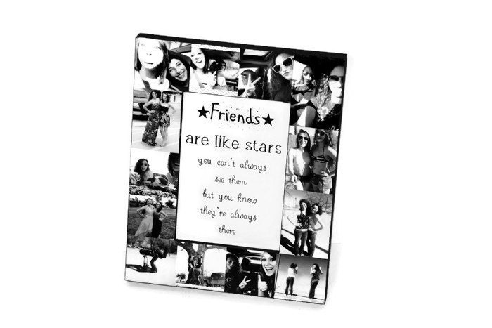 Best Friend Frame Picture Frame Photo collage Thank You Parent Gift ...