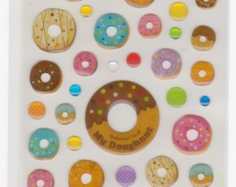 Donut Stickers - Raised - Mind Wave - Reference F2413F2759A3224