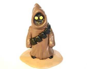 Star Wars Jawa Clay Figure