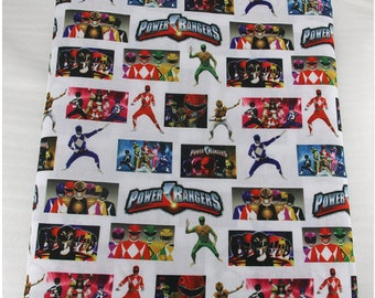 power rangers  fabric