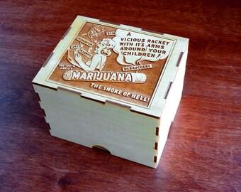 Reefer Madness Incognito Stash Box