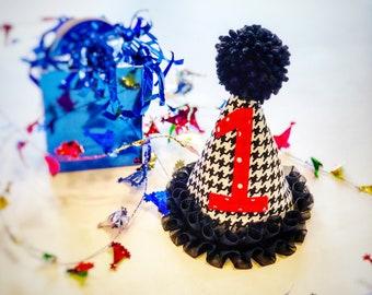 Handmade Dog Birthday Hat (Fabric)