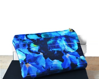 Black clutch, Black leather clutch bag, Clutch Bag, Blue Clutch, Purse Black, leather clutch bag, Floral bag, Floral clutch bag, Gold clutch