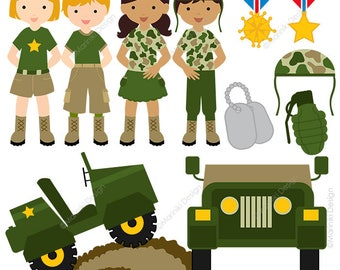 military clipart etsy rh etsy com military clipart free military clipart free