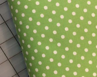 HALF YARD cut of Tanya Whelan - Delilah - Dots in Green TW43