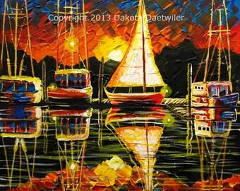 Sail Away - 2013 by Dakota Daetwiler - Giclee canvas prints