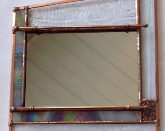 Mirror with Jewelry Display