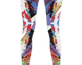 Women's Pop Art Leggings