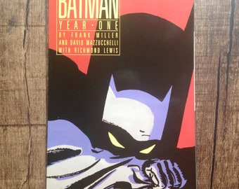 Batman Year One 1988 Graphic Novel
