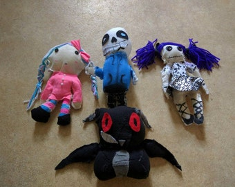 Plushies and dolls custom