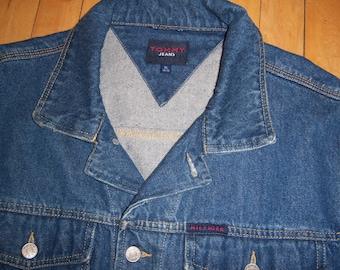 Tommy Hilfiger Jeans Jean Jacket Denim X Large 2000