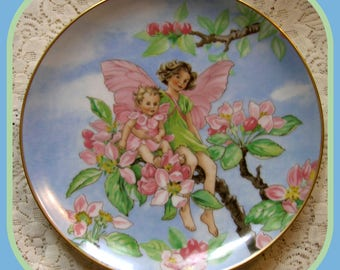 The Apple Blossom Fairy Plate