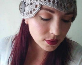 Braid Lace Boho Ear Warmer Headband