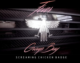 Screaming Chicken Badge