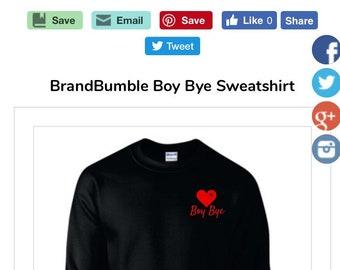 BrandBumble BoyBye sweatshirt