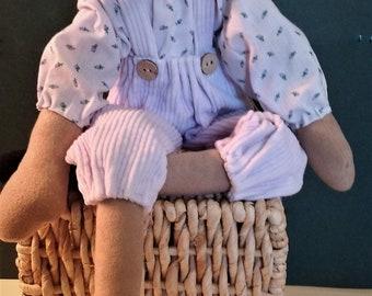 Lavender the Lamb ~ OOAK ~ Primitive ~ Folk Art ~ Collectible ~ Long Legged ~ Barn Yard ~ Lamb Dollie