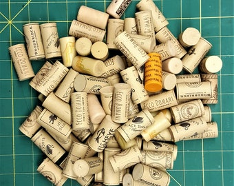 Synthetic Wine Cork Supply Man Made Used Wine Bottle Stopper Cork Art Corks for Crafts Framing Craft Supply Trivet Corks Multi purpose Corks