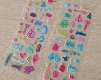 2 sheets of cute stickers (ST02)