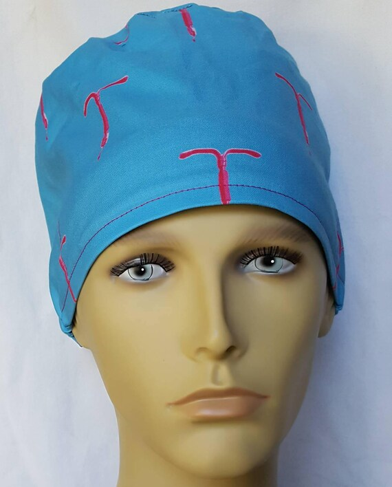 IUD Surgical Peeling Hut OP Hut Theater Mütze Anatomie Pixie