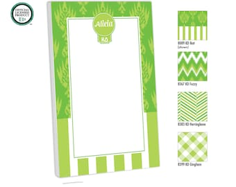 Kappa Delta Personalized Notepad, Customized with name, monogram or colors, To Do, Memo Pad, Monogram Notepad, Kappa Delta Gift, Big Little