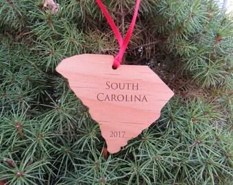 South Carolina State Ornament