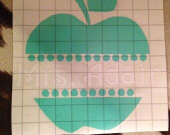 Teacher Vinyl Decal