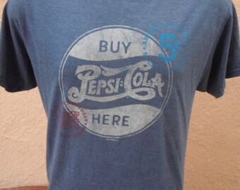 Size L (46) ** Pepsi Shirt (Double Sided)