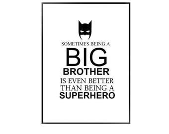 BIG BROTHER - batman / super hero