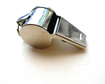 Vintage Silver Whistle