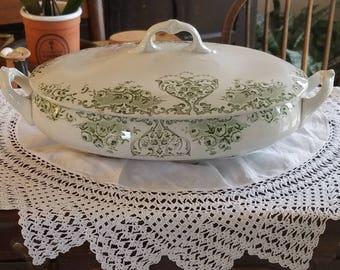Stunning China Soup Bowl/Server- Made in England