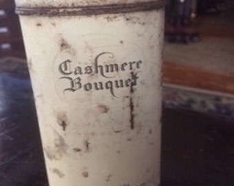 Old Cashmere Bouquet tin
