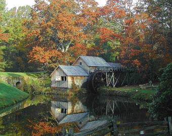 Mabry Mill Blue Ridge Parkway Va