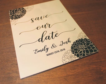 PDF - Custom Save the Date