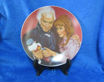 Vintage 1979 Collector Porcelain Plate A gift from Godfather