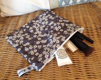 Mitsy gray pouch