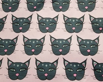 Custom Mystic Kitty  Diaper you choose type and size Nb/Sm or Onesize