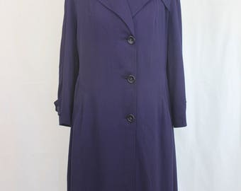 "Very Chic 1940's Jacket Made For "" All Weather"" Size M/L"