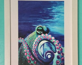 "I'm So Fancy | Octopus Art Print | 13"" x 19"""