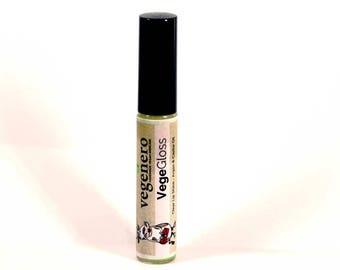 Handmade Clear Lip Gloss | Vegan Natural Lip Balm Gloss | Lip Care | Shiny Lips | Organic Lip Balm | Soft Lips | Dry Lips