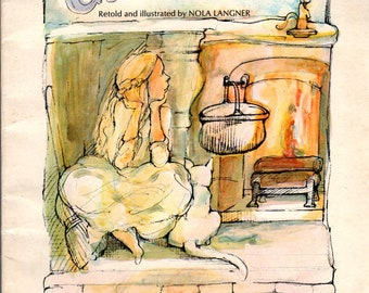 Cinderella retold and Illustrated by Nola Langner